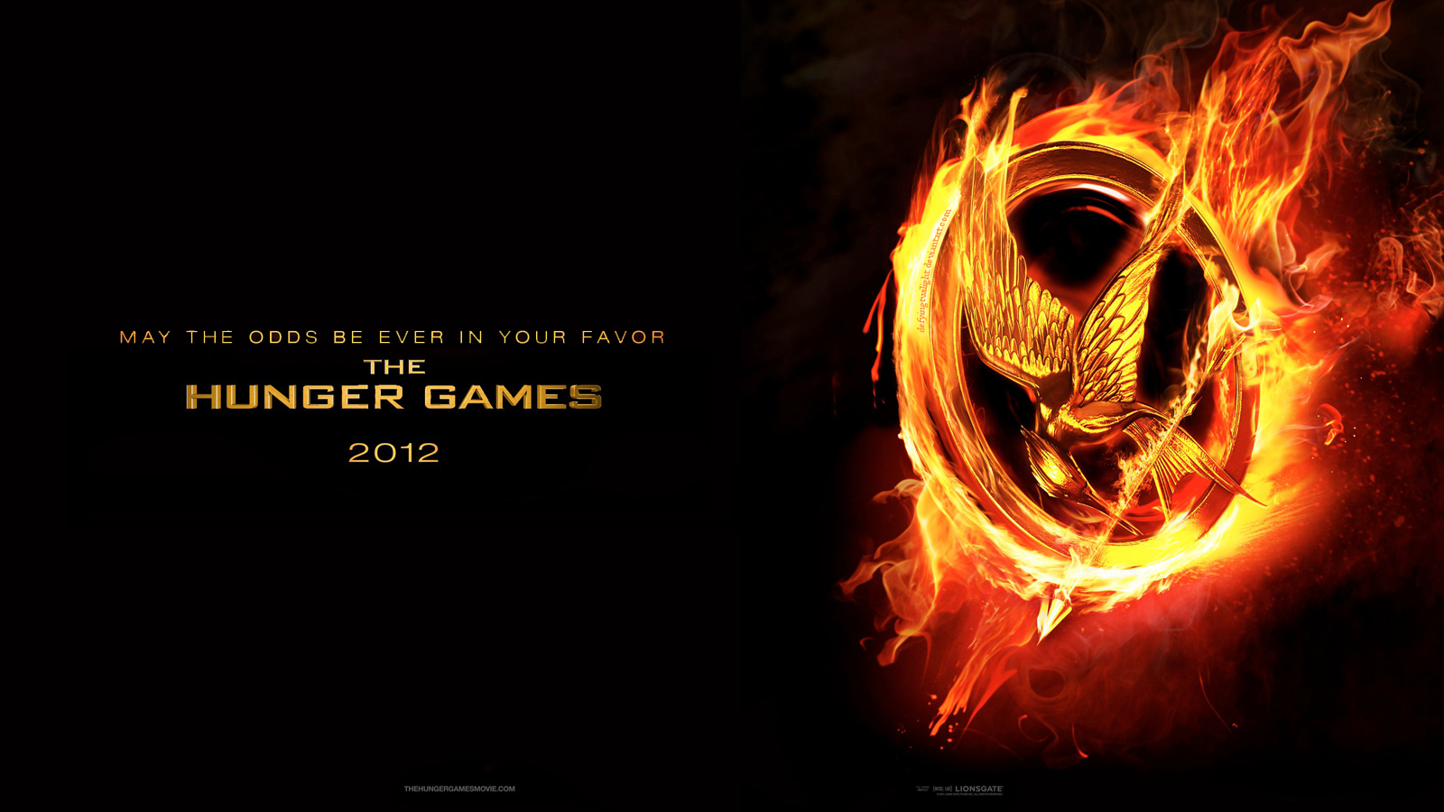 The Hunger Games 'The Hunger Games' Movie Poster Wallpapers
