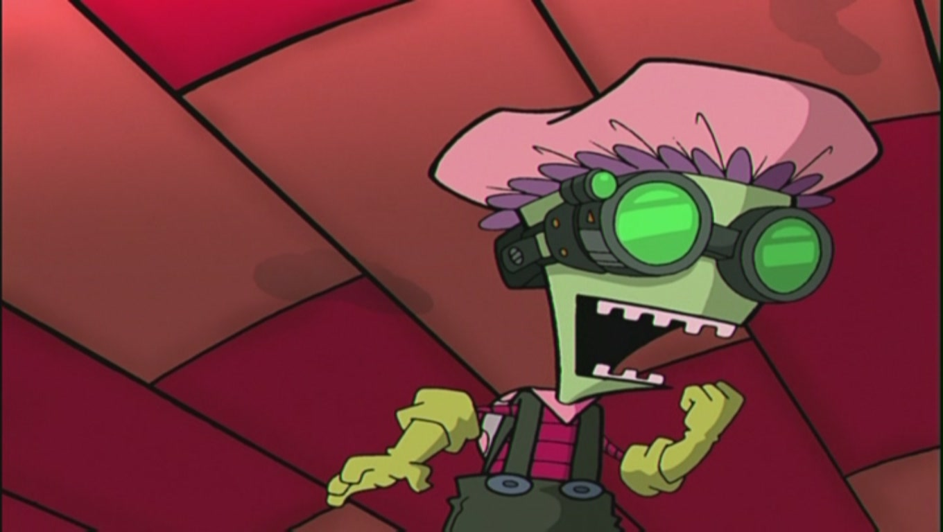 Invader zim 1x04a 'germs'