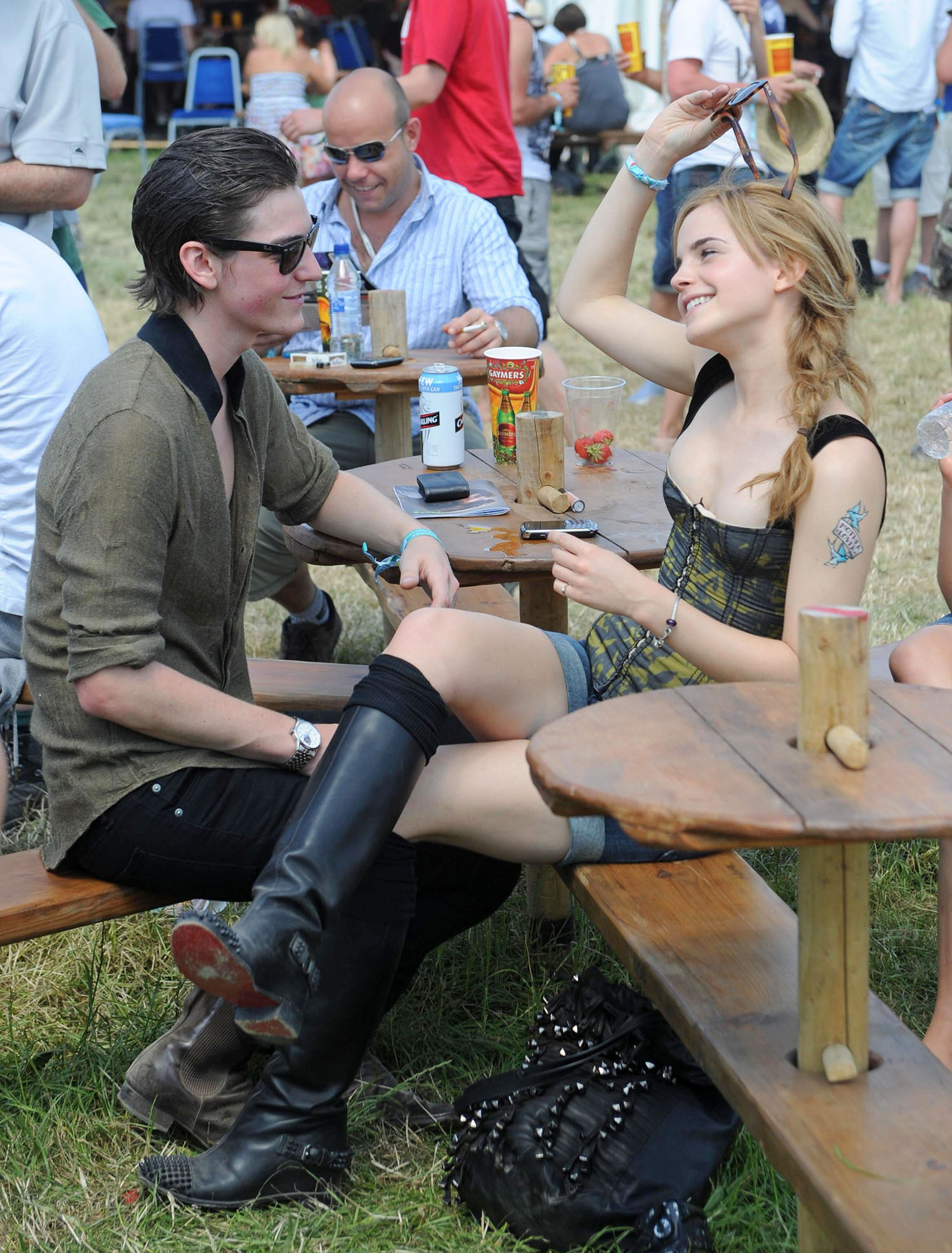 2010 Glastonbury 音乐 Festival in Somerset, England (25.06.10) [HQ]