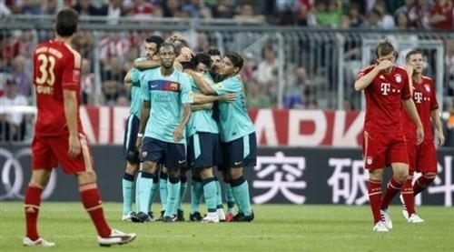2011 Audi Cup: FC Barcelona - FC Bayern Munich (2:0)