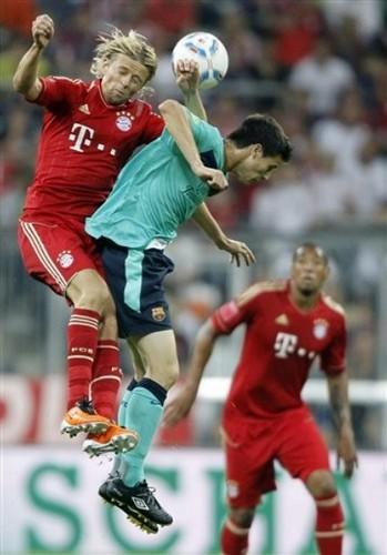 2011 アウディ Cup: FC Barcelona - FC Bayern Munich (2:0)