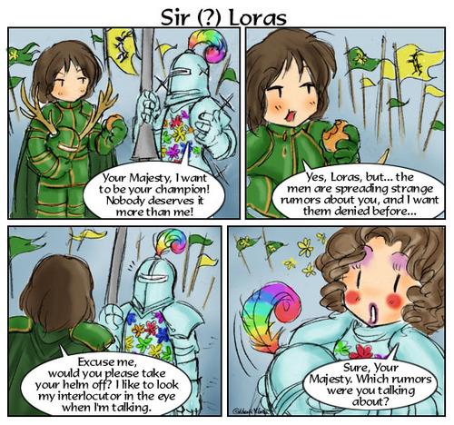 Sir (?) Loras