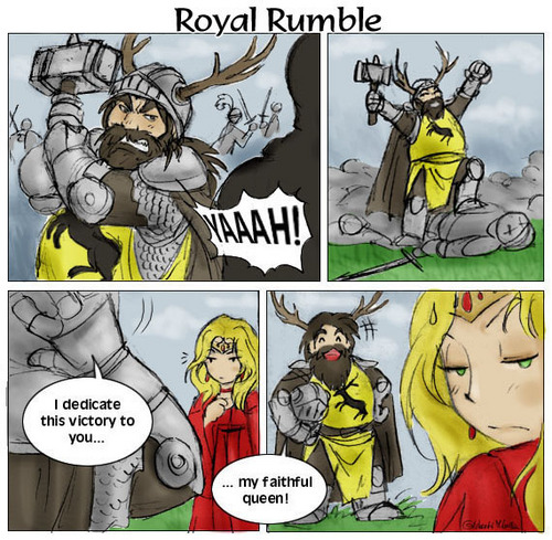 Royal Rumble - a-song-of-ice-and-fire Fan Art