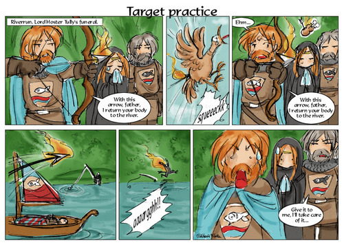 A Song of Ice And api, kebakaran kertas dinding containing Anime titled Target Practice