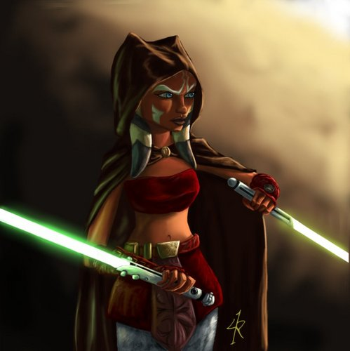 ster Wars: Clone Wars achtergrond possibly with sunglasses called Ahsoka!!