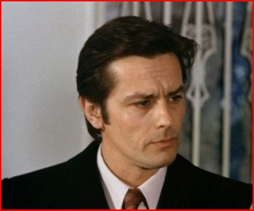 Alain Delon wallpaper with a business suit entitled Alain Delon