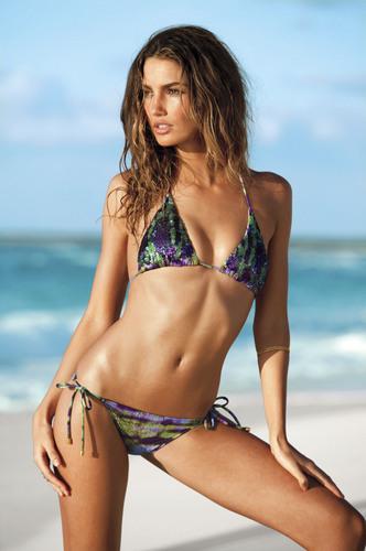 Alessandra Ambrosio: Victorias Secret Bikini Photoshoot 2011