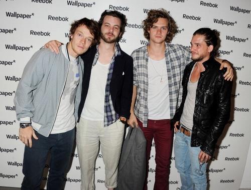 Alfie, Gethin, Finn & Kit