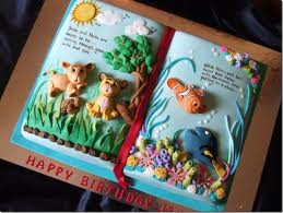 Amazing Lion King/ Nemo cake