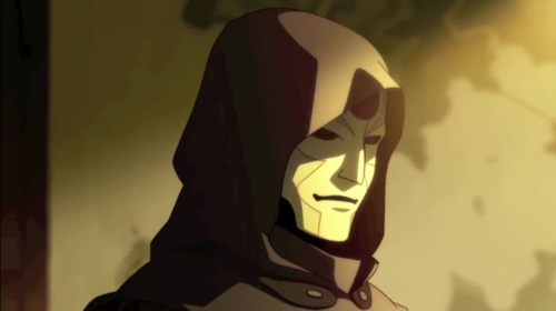 Avatar: The Legend of Korra wallpaper entitled Amon, the main antagonist
