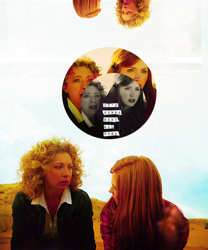 Amy Pond & River Song