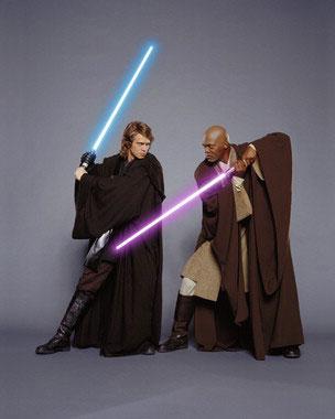 Anakin and Mace