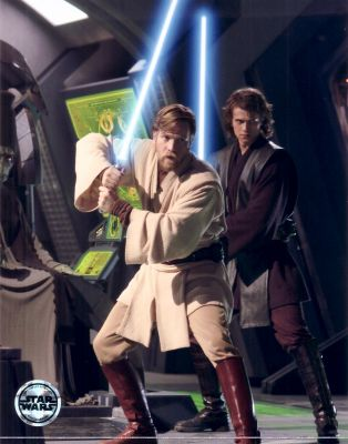 Anakin and Obi wan