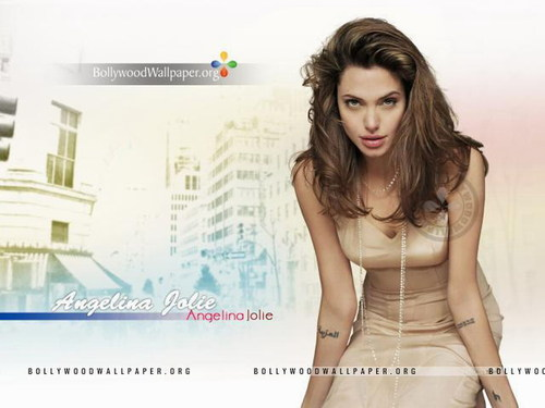 Angelina Jolie wallpaper with a portrait titled Angelina Jolie