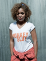 Antonia Thomas (with Misfits T-Shirt)
