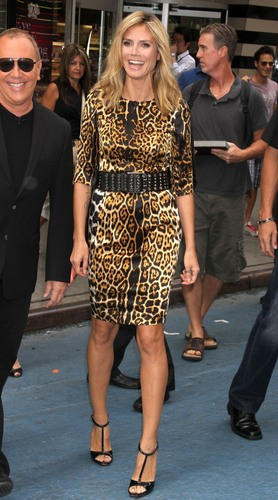 Arriving At Good Morning America In Manhattan 25 07 2011