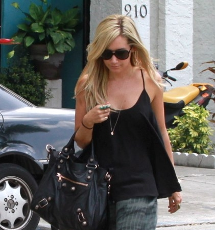 Ashley out in Miami