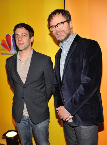 B.J. Novak and Rainn