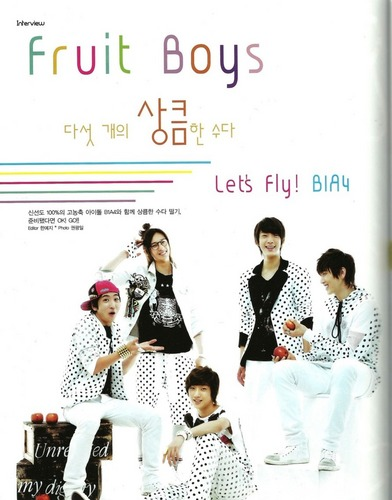 B1A4 – Junior Magazine June Issue '11