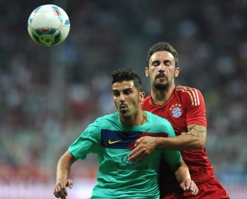 Bayern Munich vs FC Barcelona Audi Cup [0-2]