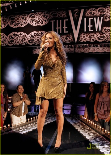 Beyonce - The View - July 28, 2011