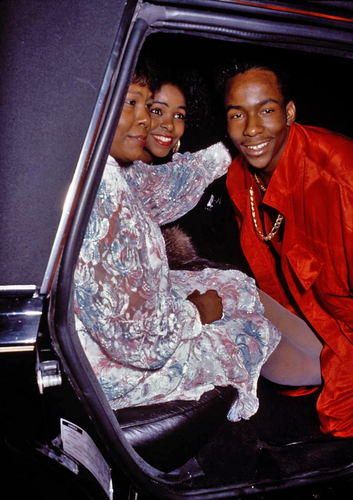 Bobby Brown, Carole Brown, Leolah Brown party 1989