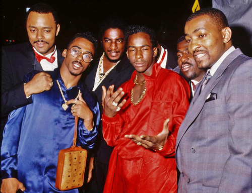 Bobby Brown Ralph Tresvant Party 1989