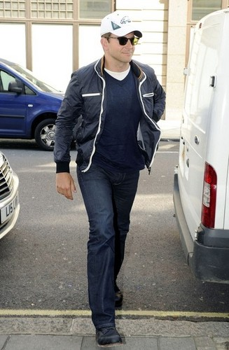 Bradley Cooper at Radio One.