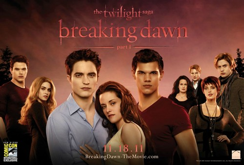 Breaking Dawn Part 1 Comic Con Poster [HQ]