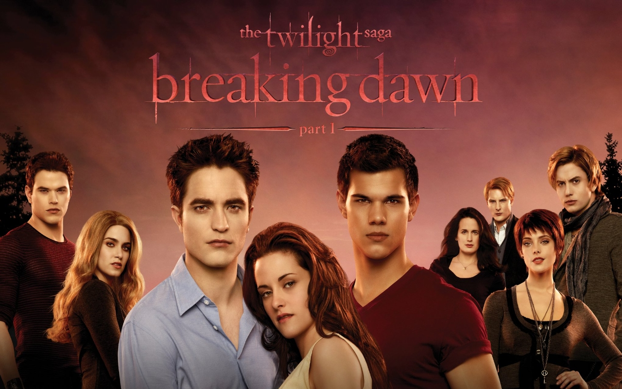 Twilight series breaking dawn part 1