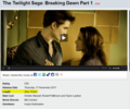 Breaking Dawn part 1 will be 2 hrs. & 15 min - twilight-series photo