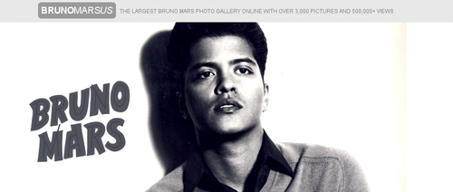Bruno Mars fond d'écran possibly with a portrait entitled Bruno Mars
