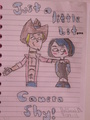 Camera shy! x3 (GxG) - total-drama-island fan art