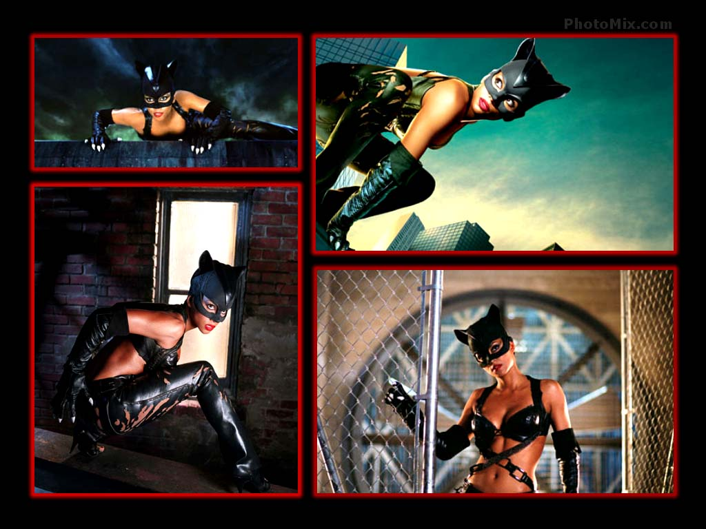 Halle Berry Catwoman Wallpaper