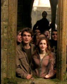 Cedric + Hermione