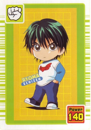 Prince of Tennis wallpaper with anime titled Chibi Echizen