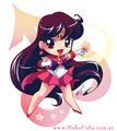 Chibi Sailor Mars / Mako-fufu