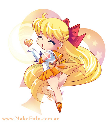 चीबी Sailor Venus / Mako-fufu