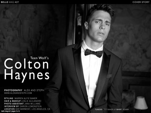 Colton in Bello Mag