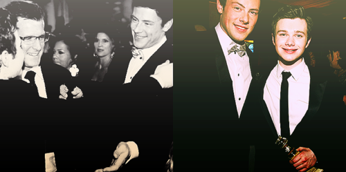 Cory/Finn & Chris/Kurt<3