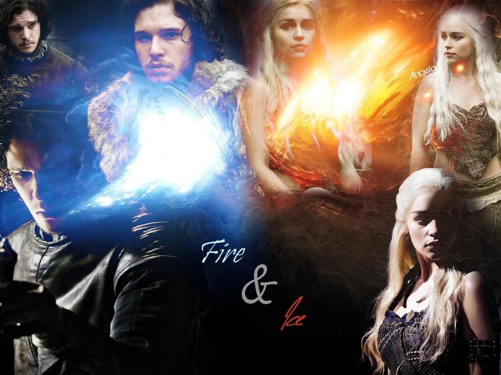 Daenerys & Jon - Game of Thrones Wallpaper (24149997) - Fanpop