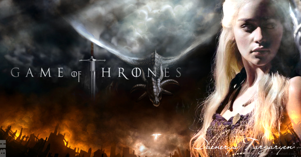 Daenerys - Game of Thrones Fan Art (24193609) - Fanpop