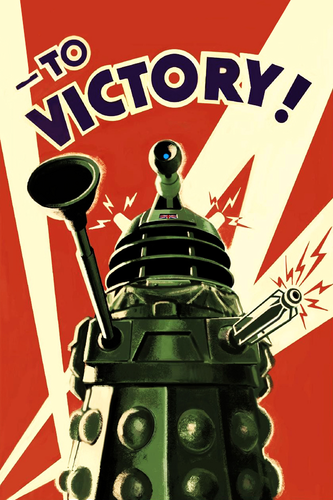 doctor who fondo de pantalla called Dalek Poster