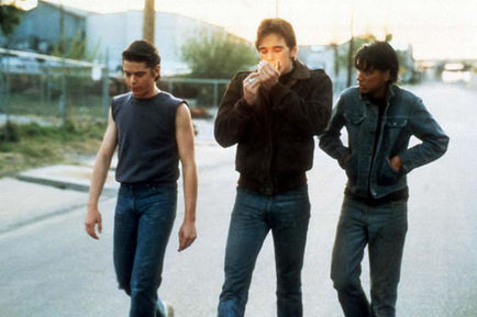 Dally, Johnny and ponyboy