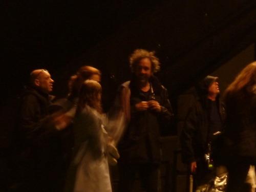 Tim Burton's Dark Shadows wallpaper with a concert titled Dark Shadows film set