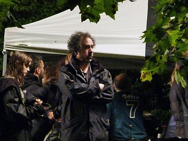Dark Shadows film set