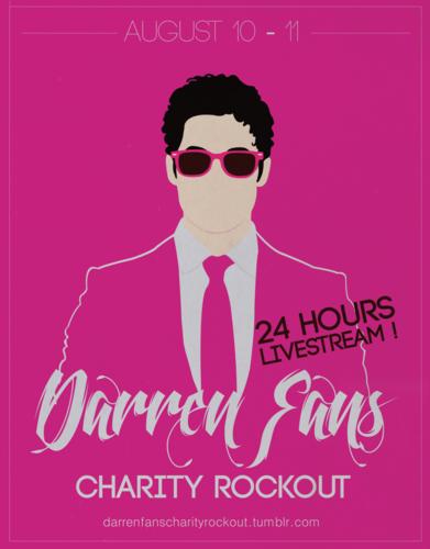 Darren fan Charity Rockout!