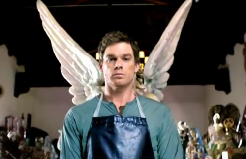 Dexter kertas dinding probably with a surcoat called Dexter - Season 6 -Misc.