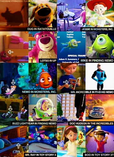 Disney Characters in Other Disney Movies