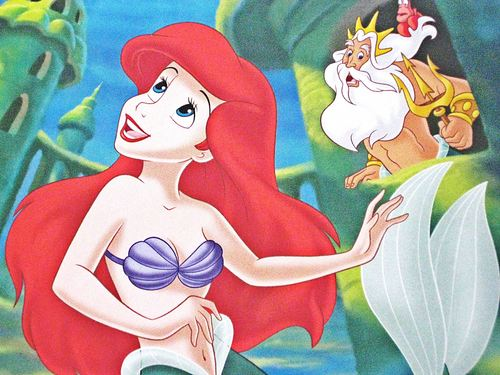 Disney Princess کتابیں - The Little Mermaid